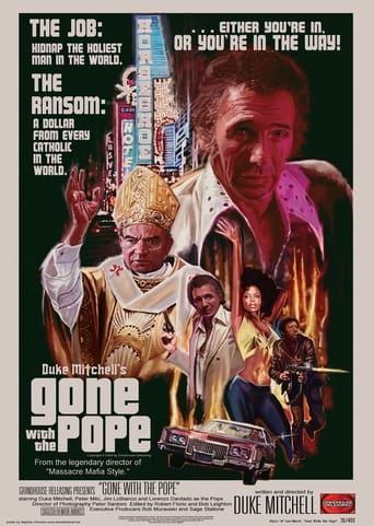 Poster of Gone with the Pope