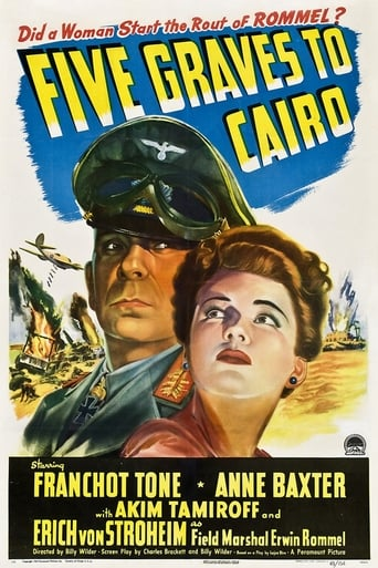 Poster of Five Graves to Cairo