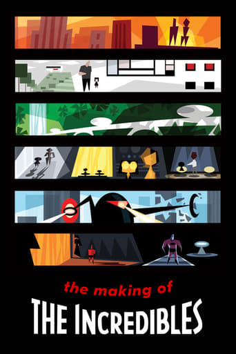 Poster of The Making of 'The Incredibles'