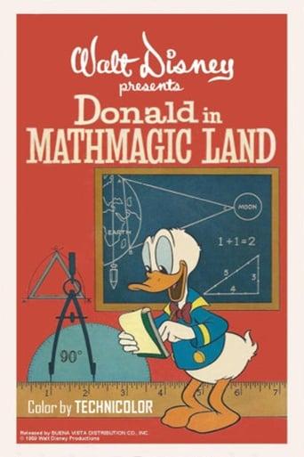 Donald no País da Matemágica - Poster
