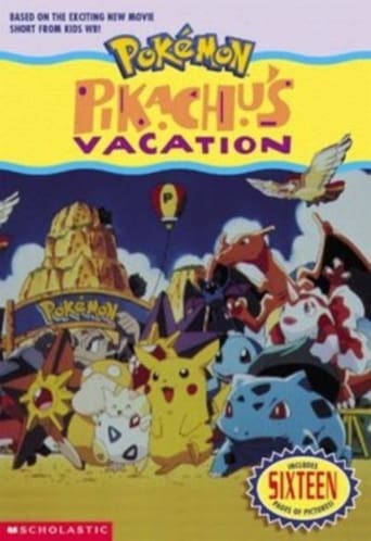 Poster of Pikachu's Vacation