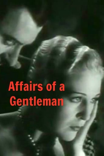 Poster of Affairs of a Gentleman