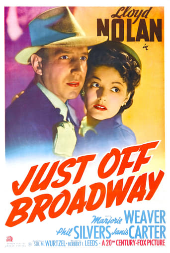 Poster of Just Off Broadway
