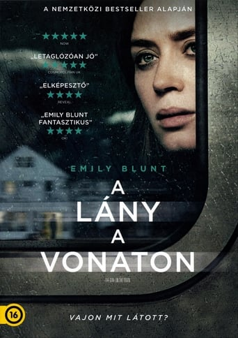 Poster of A lány a vonaton