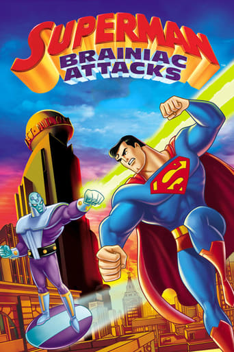 Poster of Superman: Brainiac Attacks