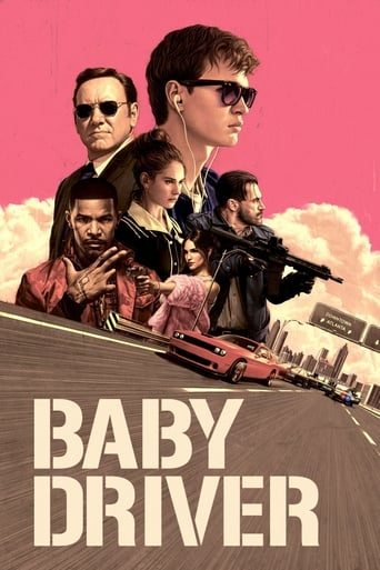 Official movie poster for Baby Driver (2017)