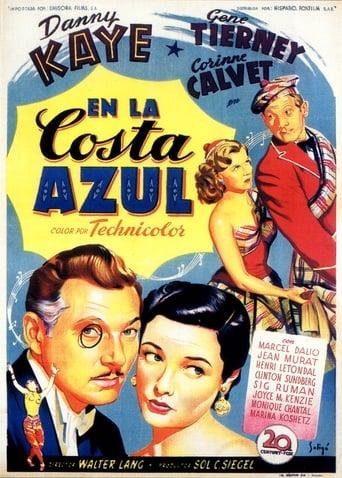 Poster of En la costa azul