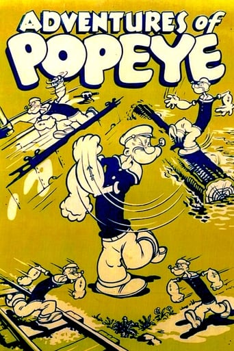 Poster of Adventures of Popeye
