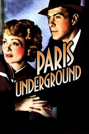 Poster of Paris Underground