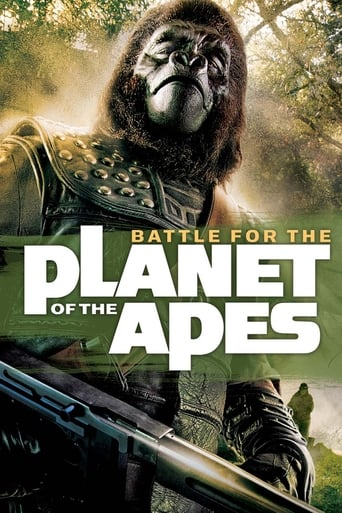 Battle for the Planet of the Apes (1973) - poster