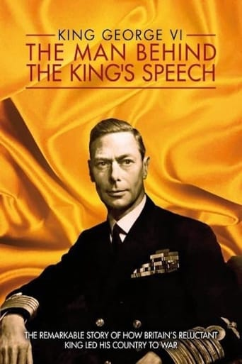 Poster of King George VI: The Man Behind the King's Speech