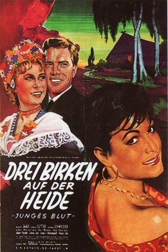 Poster of Drei Birken auf der Heide