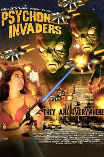 Poster of Psychon Invaders