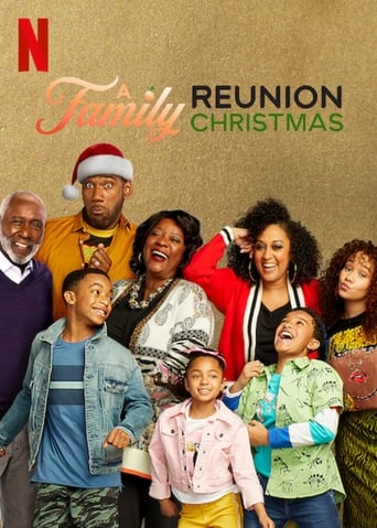 Poster of A Family Reunion Christmas