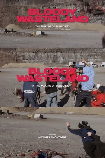 Poster of Bloody Wasteland: The Making of Turbo Kid