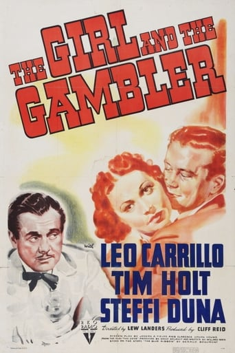Poster of The Girl and the Gambler