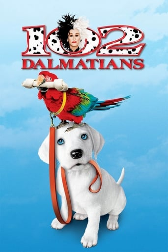 Official movie poster for 102 Dalmatians (2000)