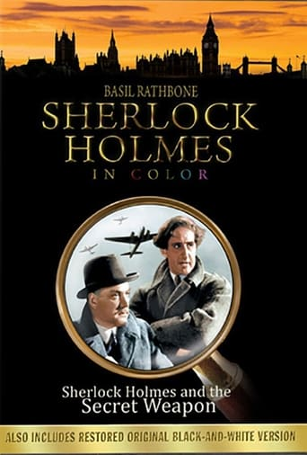 Poster of Sherlock Holmes and the Secret Weapon