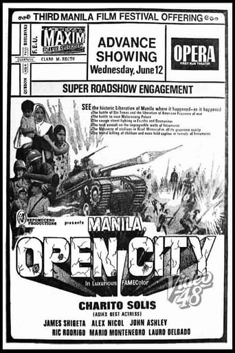 Poster of Manila, Open City