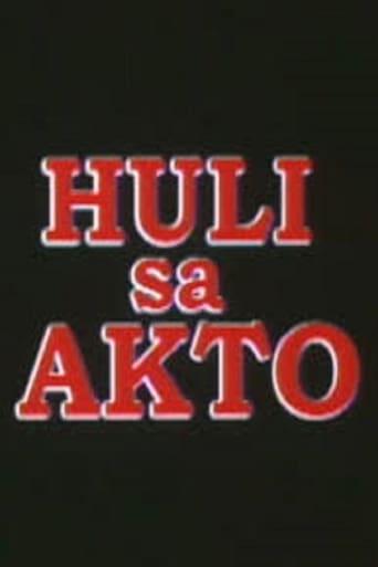 Poster of Huli sa akto