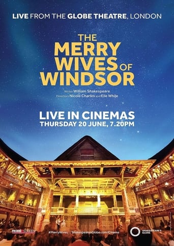 Poster of The Merry Wives of Windsor: Live from Shakespeare's Globe
