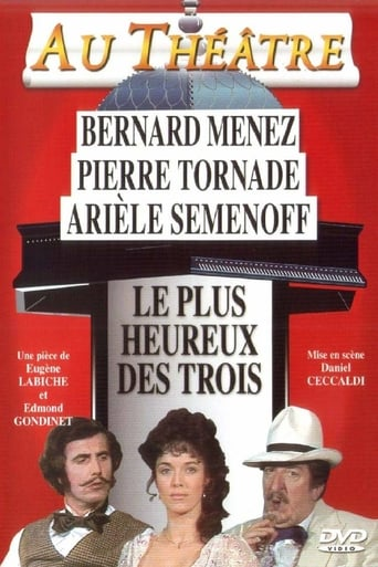 Poster of Le plus heureux des trois