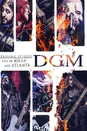 Ver DGM - Passing Stages - Live in Milan and Atlanta pelicula online