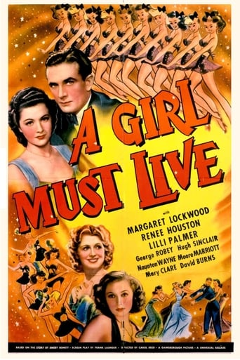 Poster of A Girl Must Live