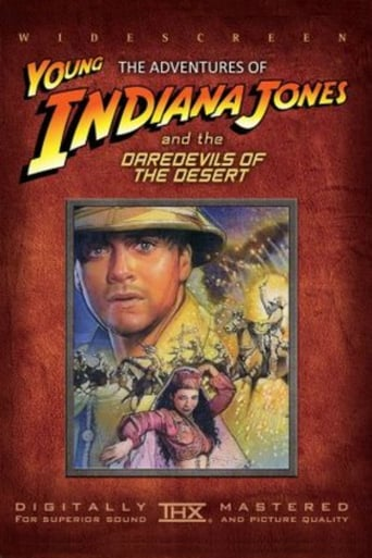 Poster of The Adventures of Young Indiana Jones: Daredevils of the Desert