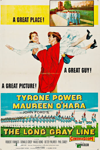 Poster de The Long Gray Line (1955)