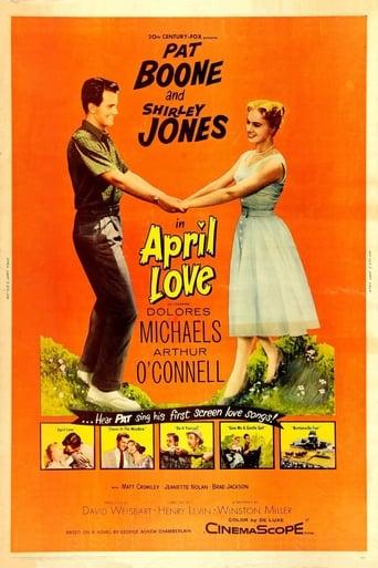 April Love (1957) - poster