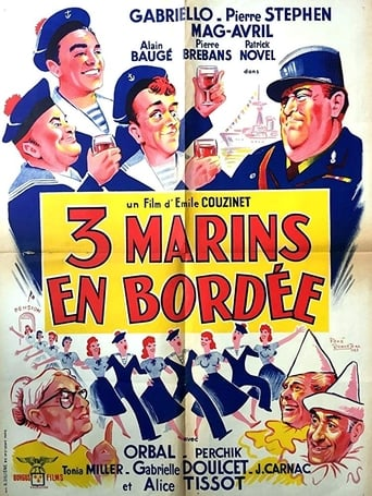 Poster of Trois marins en bordée