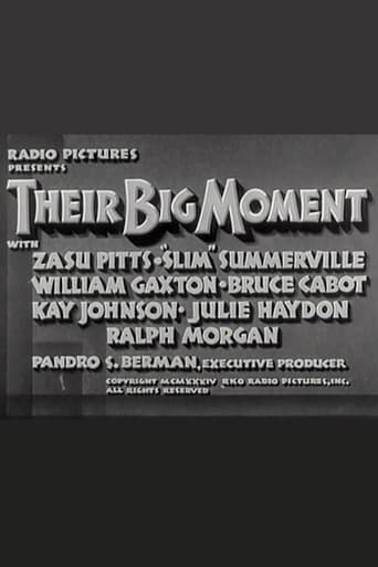 Poster of Their Big Moment