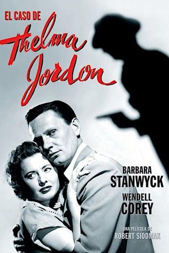 Poster of El caso de Thelma Jordon