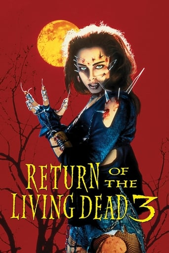 Poster of Return of the Living Dead 3