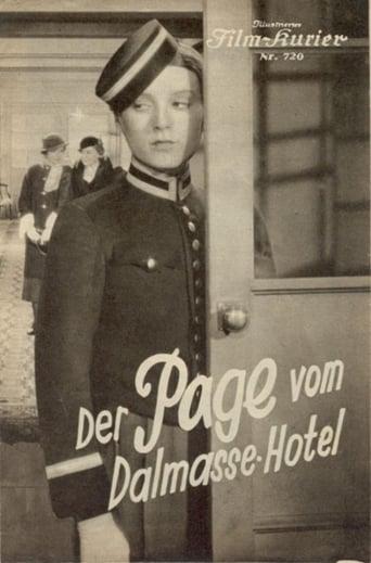 Poster of Der Page vom Dalmasse-Hotel