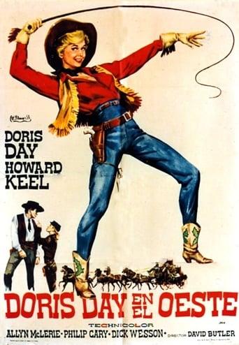 Poster of Doris Day en el Oeste