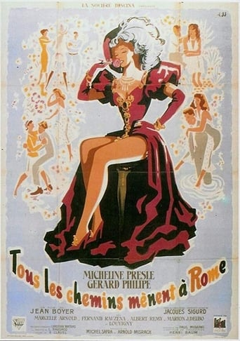 Poster of Tous les chemins mènent à Rome
