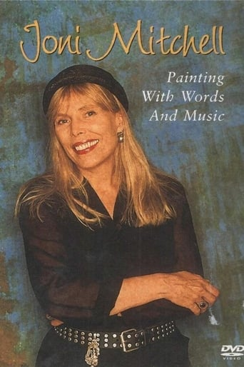 Poster of Joni Mitchell - Painting With Words & Music