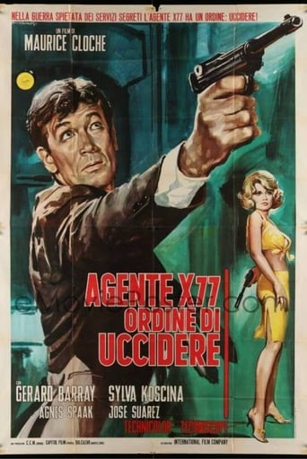 Poster of Agent X-77 Orders to Kill