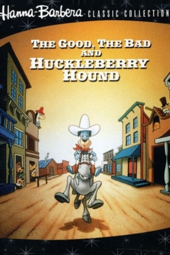 Poster of The Good, the Bad, and Huckleberry Hound
