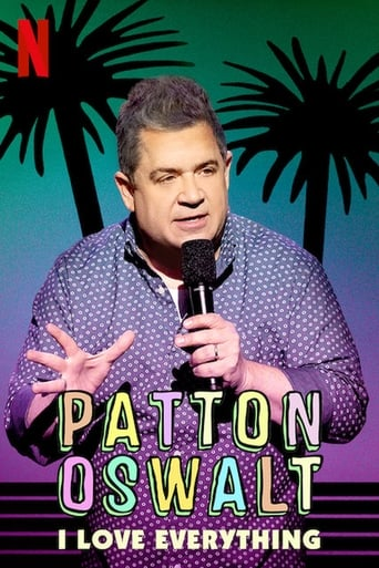 Patton Oswalt: I Love Everything Poster