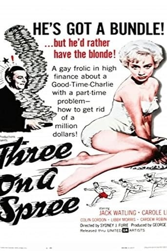 Poster of Three on a Spree
