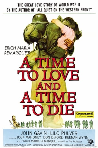 Poster of A Time to Love and a Time to Die