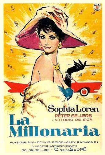 Poster of La millonaria