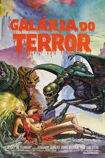 Galáxia do Terror - Poster