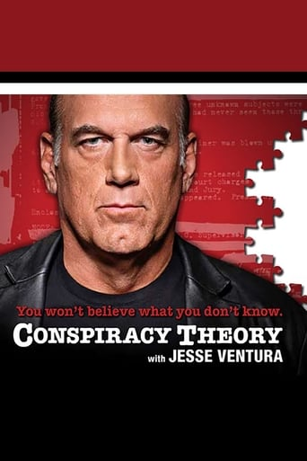 Poster of Conspiracy Theory with Jesse Ventura