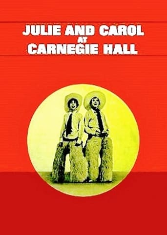 Poster of Julie and Carol at Carnegie Hall