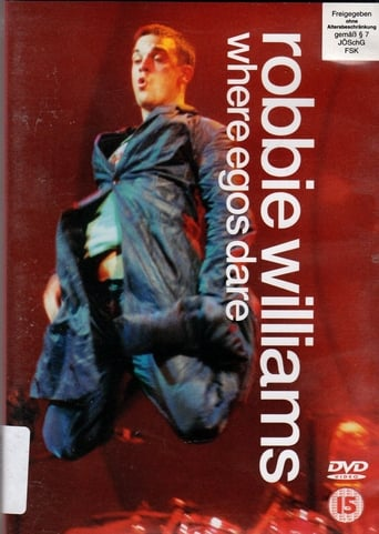 Poster of Robbie Williams - Where Egos Dare