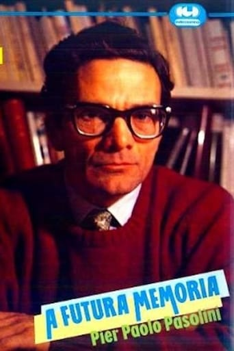 A futura memoria: Pier Paolo Pasolini Movie Poster